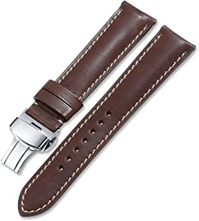 iStrap Calf Leather Watch Strap Quick Release Band Deployant Clasp Replacement 16 18 19 20 21 22 24mm