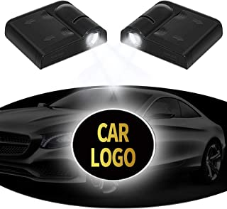 Wireless Car Door Lights Welcome Projector Logo Light, XERGUR Projection LED Light Shadow Ghost Laser Lamp Fit for Chevy, Chevrolet