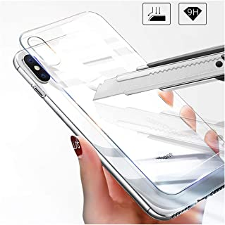 Skyddsfilm härdat glas pansarglas främre baksida härdat glas för Iphone XR X XS MAX 6 6S 8 7 Plus 5 S 5S 5C SE 4 4S skärms...