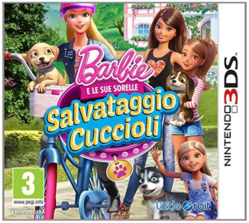 Barbie and Her Sisters Puppy Rescue (Nintendo 3DS) by Bandai Namco Partners Uk Ltd