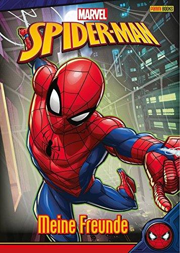 Marvel Spider-Man Freundebuch: Meine Freunde