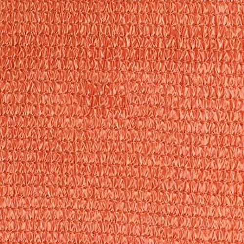 DUO Voiles d'ombrage Auvent de voile Sun Shade de 3 * 4M (couleur multiple) - Le bloc UV pour le patio et les bâtons de fixation extérieurs sont EXCLUS. pour plante et fleur (Color : Rust red)