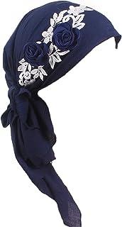 Women Turban African Chemo Head Scarf Muslim Hat Hijab Cancer Headwear Wrap Cap