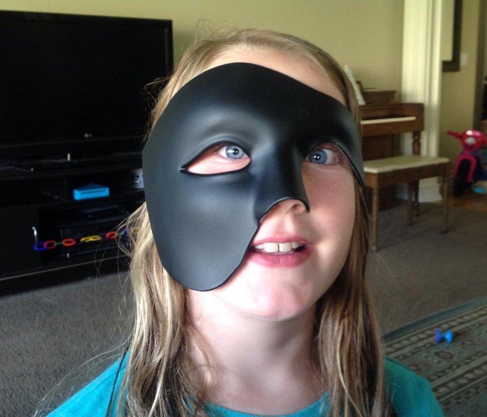 Kapmore Mascara Fantasma de la Opera Masquerade Máscara Halloween ...