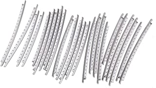 Musiclily Pro 2.4mm Stainless Steel Medium Gauge 24-Pieces Fret Wire Set for Fender Guitar