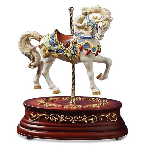 Heritage Single Horse Animated Figurine