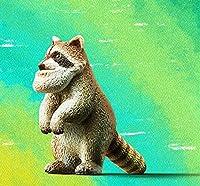 パンダの穴 シャクレルプラネット4 第4弾 「 シャクレルアライグマ ( アライグマ ) 」 単品