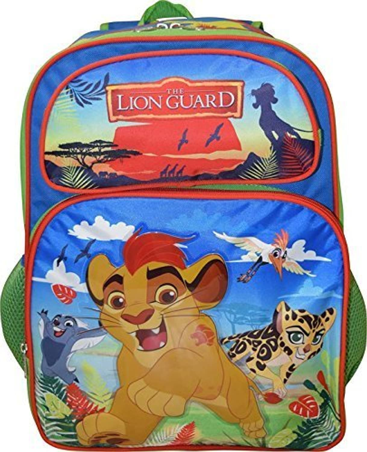 Leader Of The Lion Guard 12 Toddler School Backpack by Disney