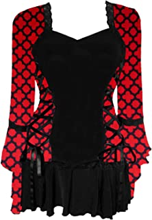 Dare to Wear Victorian Gothic Boho Women's Plus Size Bolero Corset Top