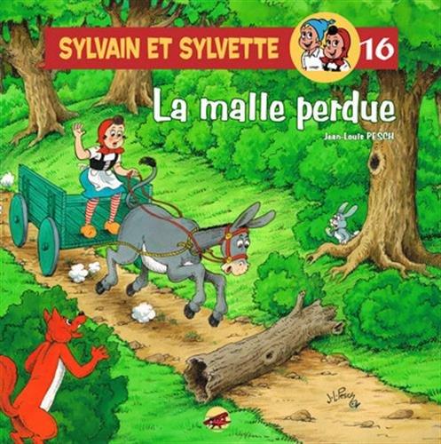Sylvain et Sylvette, Tome 16 : La malle perdue