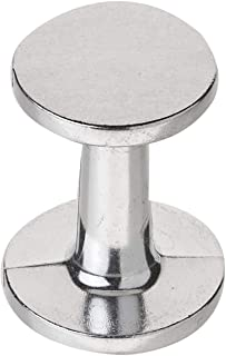 "RSVP International (TAM) Dual Sided Coffee Espresso Tamper, 2""-2.25"", Aluminum Alloy"