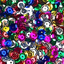 Fireboomoon 10,000pcs Bulk Craft Cup Sequins Mixed Colors and Sizes, Sequins and Spangles Craft Supplies Sequins for Craft...