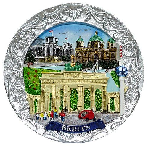 Dresden-Onlineshop Petite Assiette à Motif Berlin Multicolore
