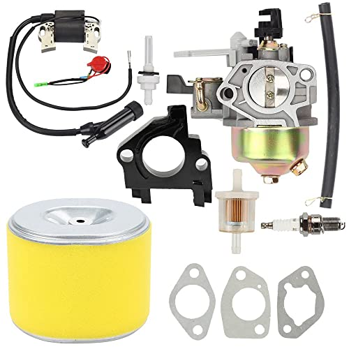 Butom GX390 Carburetor with Air Filter Tune Up kit for Honda GX 390 13HP Engine Toro