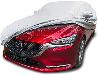 CarsCover Custom Fit 2009-2018 Mazda 6 Car Cover Mazda6 Heavy Duty Weatherproof Ultrashield Covers