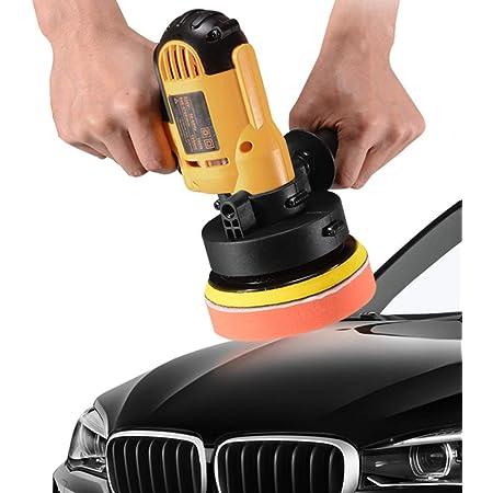Kkmoon Poliermaschine 700w Exzenter Polierer 600 3700 Rpm Einstellbare Geschwindigkeit Auto Wachsen Polieren Versiegelung Glasur Maschine Elektrische Polierer Für Metall Und Möbel Auto