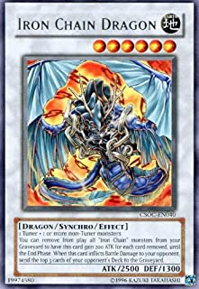 Yu-Gi-Oh! - Iron Chain Dragon (CSOC-EN040) - Crossroads of Chaos - Unlimited Edition - Rare
