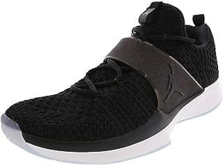 Nike Men's Trainer 2 Flyknit Black/Black/White Training Shoe 9.5 Men US