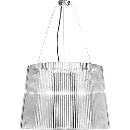 Kartell Gè, Lampe de Suspension, Cristal