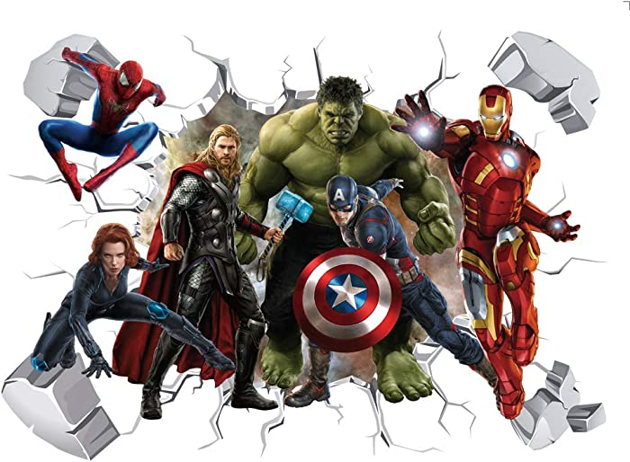 Updated 2021 – Top 10 Marvel Avengers Wall Decor