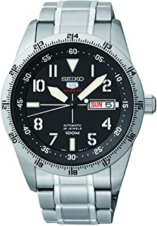 Sports Automatic Black Dial Stainless Steel Mens Watch SRP513 by Seiko Watches