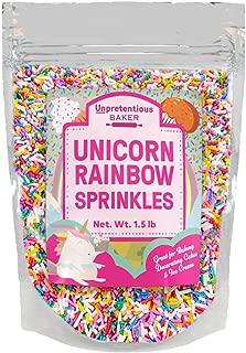 rainbow jimmies sprinkles