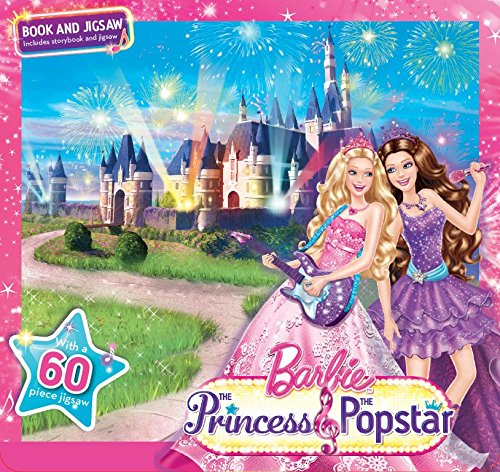 Barbie Jigsaw Puzzle Set: Princess and the Pop Star