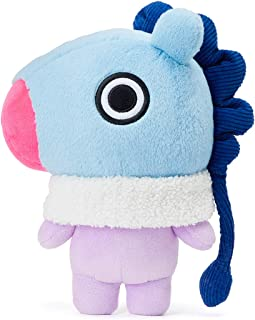 BT21 Official Merchandise with Line Friends - MANG Character Winter Standing Plush Toy Doll 10 inches