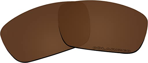 BVANQ Replacement Lenses Polarized for Oakley Fives Squared/Fives 3.0 Sunglasses - 8 Options Available (Brown)