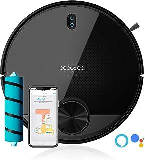 Cecotec Robot Aspirador Conga Serie 3590. Tecnología láser, Cepillo Jalisco, Room Plan, 2300 Pa, App con Mapa Interactivo, Doble Tanque, Cepillo Especial Mascotas