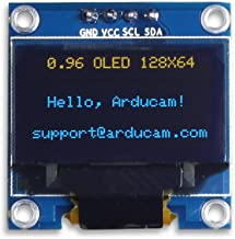 UCTRONICS 0.96 Inch OLED Module 12864 128x64 Yellow Blue SSD1306 Driver I2C Serial Self-Luminous Display Board for Arduino...