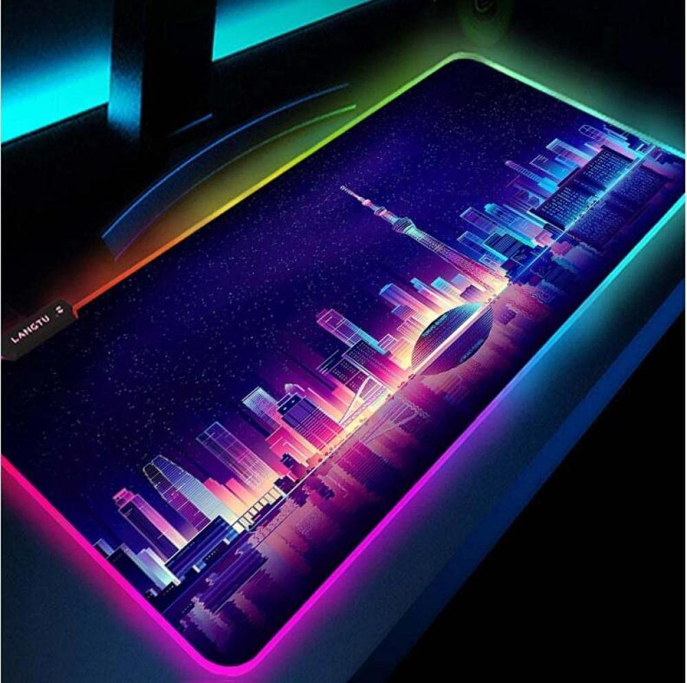 Mouse New products world's highest quality popular Indefinitely Pads RGB Gamer Gloway Mat Rug Table Desk Gaming