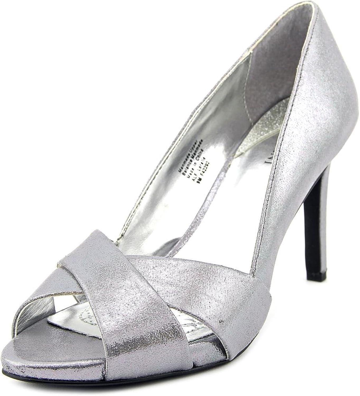 Alfani Loralie Women US 8 Silver Sandals
