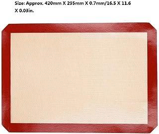 4 tailles de tapis de cuisson en silicone antiadhésif feuille de tampon de cuisson outils de pâtisserie tapis de pâte à ro...