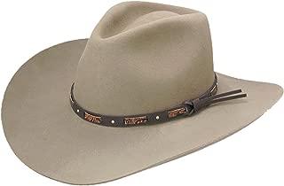 Men's Hutchins 3X Wool Felt Cowboy Hat - Swhutc403420 Stone