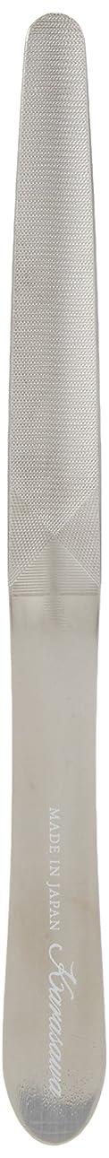 印刷する窓を洗う手術柄沢ヤスリ 爪ヤスリ スタンダード ケース付き 赤銀