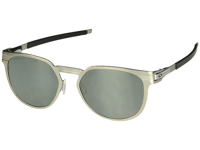 Oakley Diecutter (Satin Chrome/Prizm Black) Sport Sunglasses