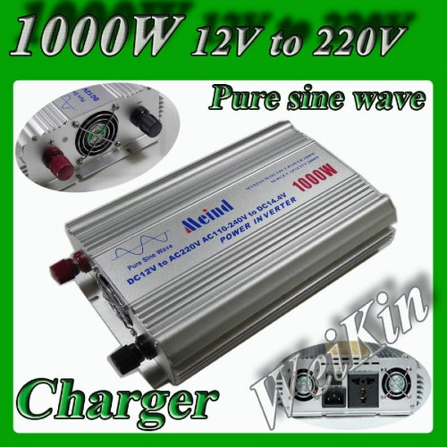 TUNDRA S Series Pure SINE Wave 3000 W to 6000 W // 12 Volts DC to 120 Volts AC DC//AC Power Inverter S3000