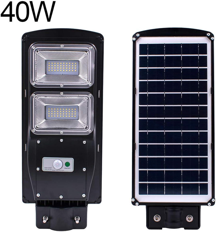 KUSUOU Solarleuchten für den Auenbereich, hohe Helligkeit, LED, Solarleuchten für den Auenbereich, IP67, wasserfest, langlebig, energiesparend, 8-12 m Solarlampe 40w
