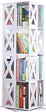CHenXin Bibliothèque, bibliothèque Simple au Sol, bibliothèque en Bois pour Enfants, Armoire de Rangement Multifonctions p...