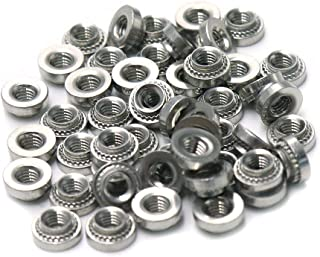 Cyful M3 Stainless Steel Self Clinching Rivet Nut Fastener-50pcs