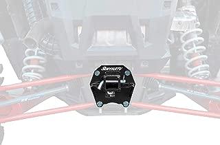 SuperATV Heavy Duty 2'' Rear Receiver Hitch for Polaris RZR XP Turbo/XP 4 Turbo (2017+) - Black
