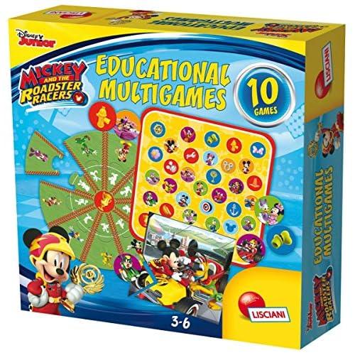 Lisciani Giochi 58853 - Mickey Educational Multigames