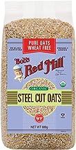 Bob's Red Mill Bob`s Red Mill Organic Steel Cut Oats Pure Wheat Free 680g, 680 g
