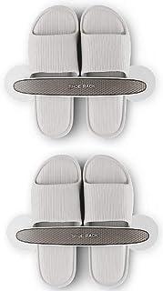 WANLIAN Slipper Rack, Shoe Rack, Finishing Rack, Door Rack and Closet Door, Wall-Mounted Shoe Rack, Non-Perforated Waterpr...