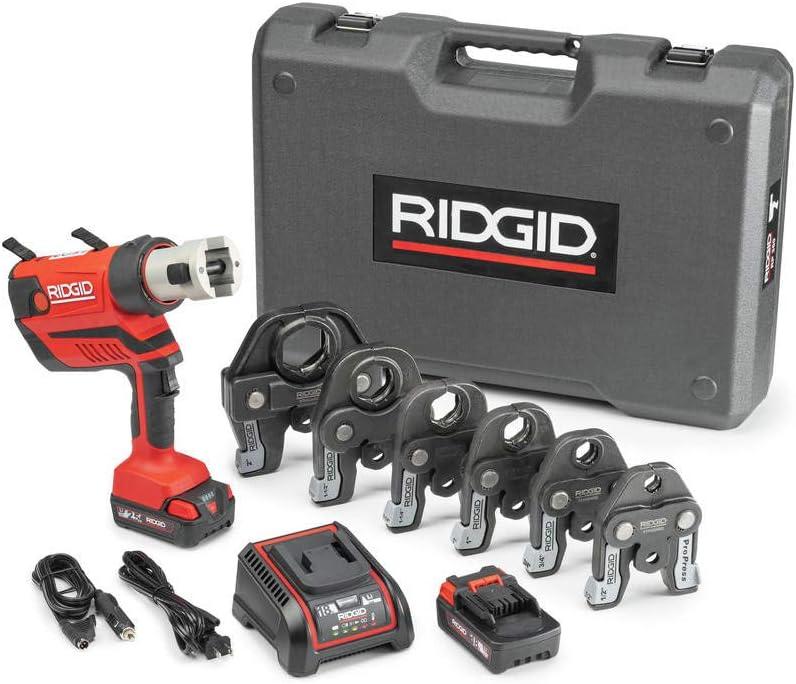 RIDGID 67053 San Antonio Mall RP-350 Battery Kit W 1 ProPress Max 88% OFF - Jaws 2