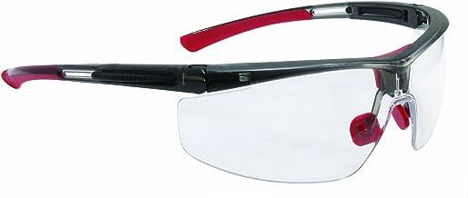 UVEX by Honeywell T5900LTK North Adaptec Series Safety Eyewear Regular Black Frame Clear Lens, Uvextra Anti-Fog Coating