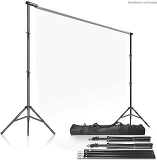 LimoStudio Photo Video Studio 10Ft Adjustable Muslin Background Backdrop Support System Stand, AGG2862