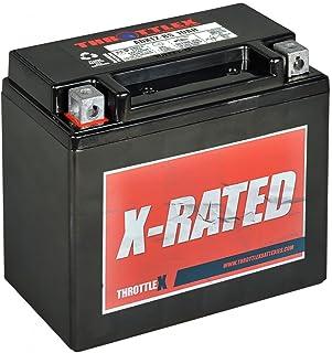 Throttlex Batteries ADX12-BS AGM Replacement Power Sport Battery, 1 Pack