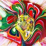 Acryl Pouringset 6 x 100 ml in NEON-Farben, gebrauchsfertige Acrylfarben mit eingemischtem Pouringmedium, Gießfarbe, Gießmedium, Fließtechnik - 2